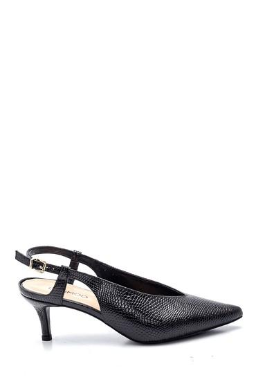 Siyah Kadın Deri Casual Ayakkabı 5638163189