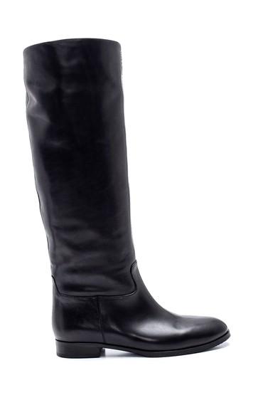 Siyah Kadın Deri Çizme 5638297991