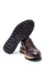 5638311844 Erkek Deri Kroko Detaylı Sneaker
