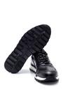 5638311869 Erkek Kroko Detaylı Deri Sneaker