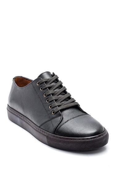 Yeşil Erkek Deri Sneaker 5638311909