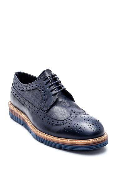 Lacivert Erkek Deri Casual Ayakkabı 5638312026