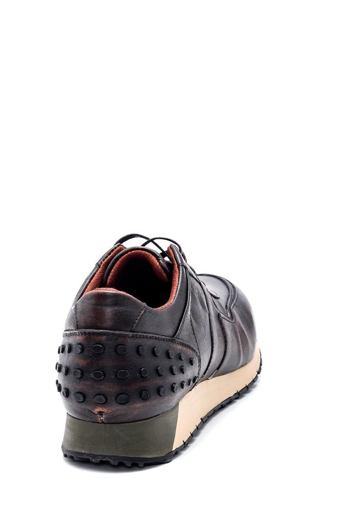 5638312076 Erkek Deri Sneaker
