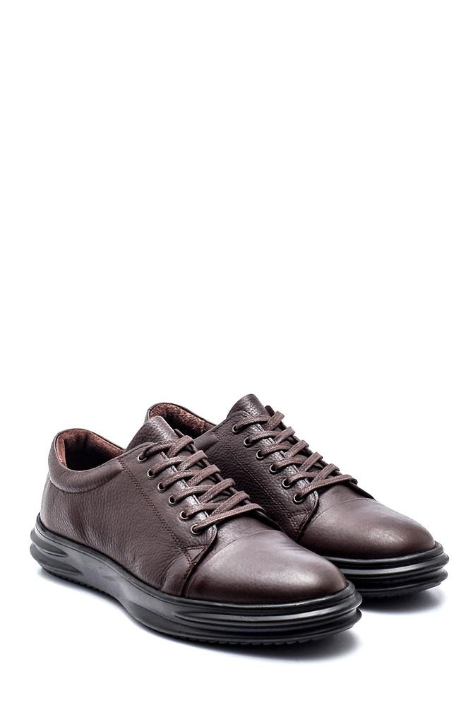 5638312193 Erkek Deri Sneaker