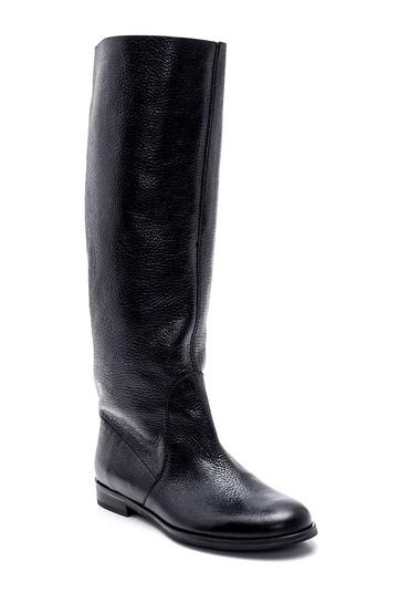 Siyah Kadın Deri Çizme 5638312465