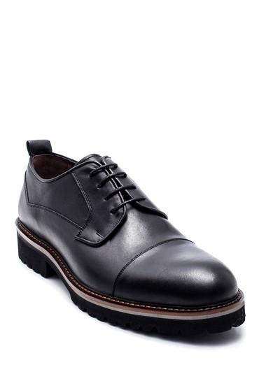 Siyah Erkek Deri Casual Ayakkabı 5638314493