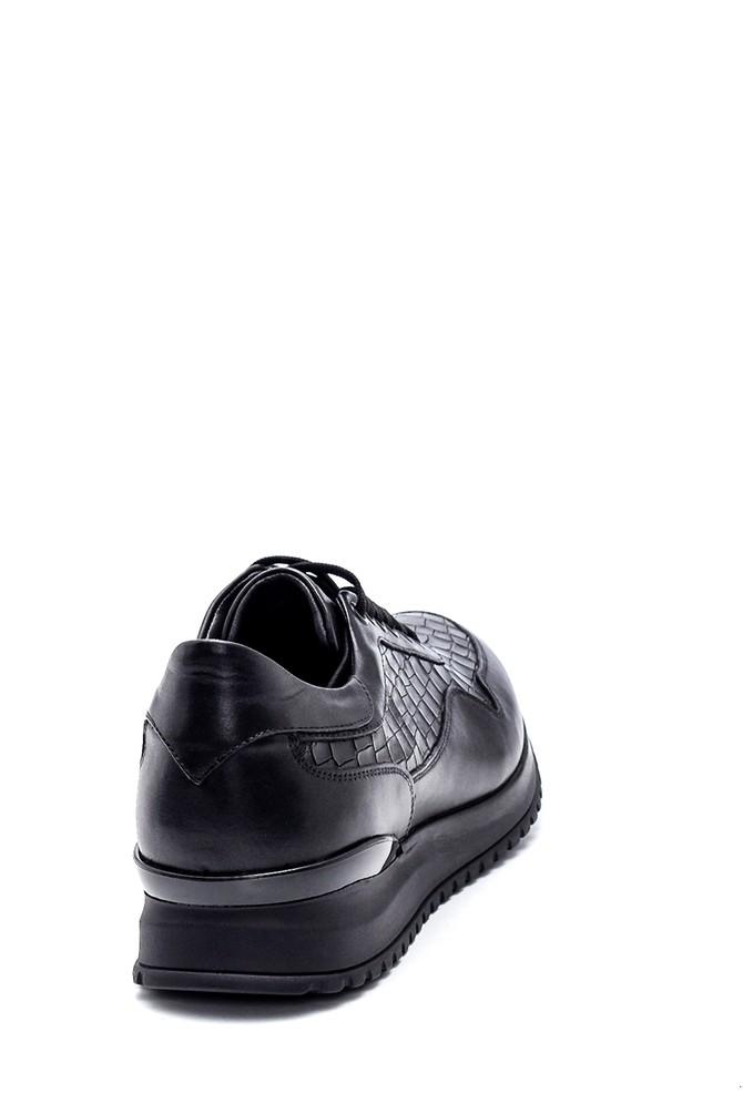 5638317628 Erkek Deri Kroko Sneaker