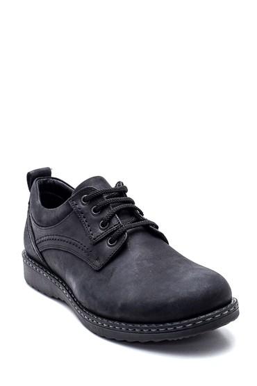 Siyah Erkek Deri Casual Ayakkabı 5638324388