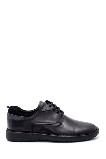 Siyah Erkek Deri Casual Ayakkabı 5638324598