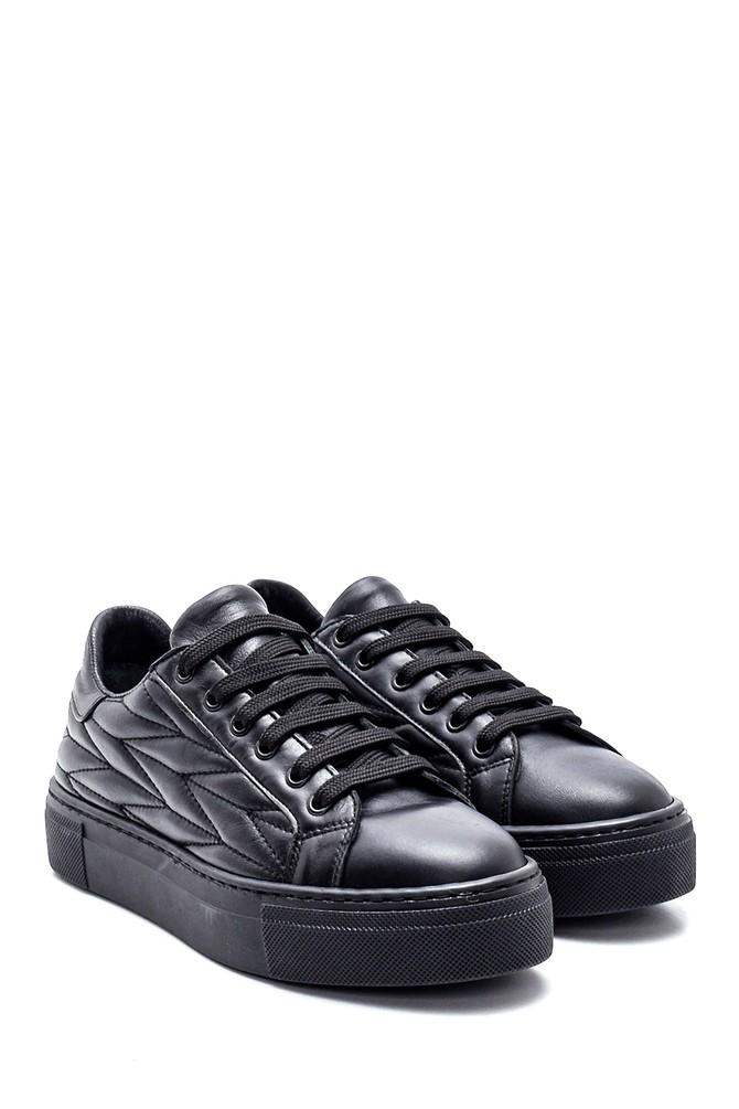 5638344658 Kadın Deri Desenli Sneaker