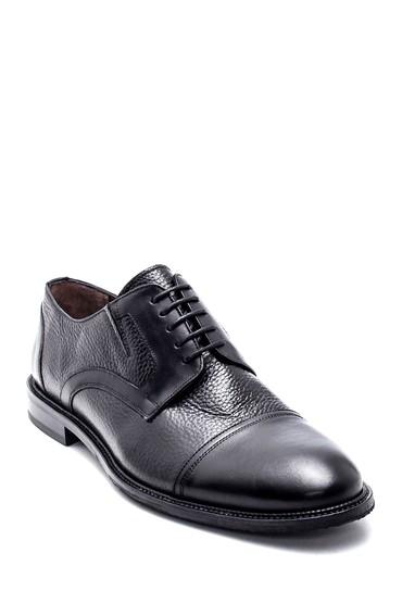 Siyah Erkek Deri Klasik Ayakkabı 5638314209
