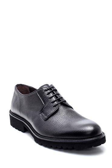 Siyah Erkek Deri Casual Ayakkabı 5638314376