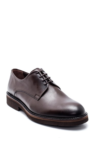 Kahverengi Erkek Deri Casual Ayakkabı 5638314466