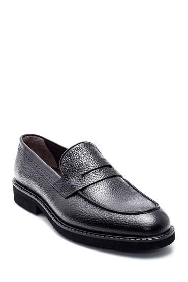 Siyah Erkek Deri Casual Ayakkabı 5638314547