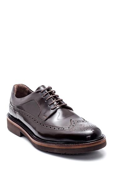 Kahverengi Erkek Deri Casual Ayakkabı 5638314578