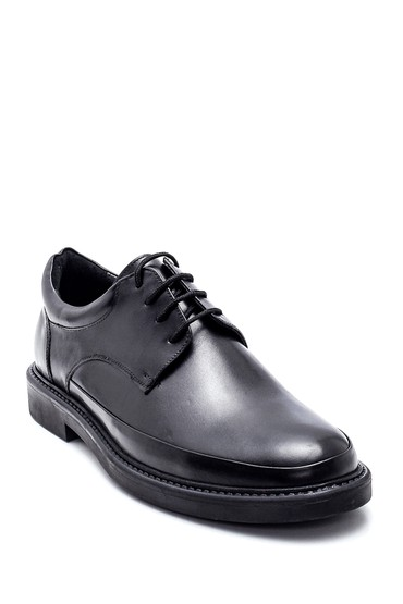 Siyah Erkek Deri Casual Ayakkabı 5638318627