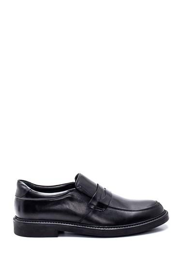 Siyah Erkek Deri Casual Ayakkabı 5638318664