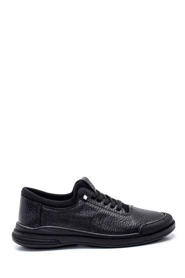 Siyah Erkek Deri Casual Ayakkabı 5638318945