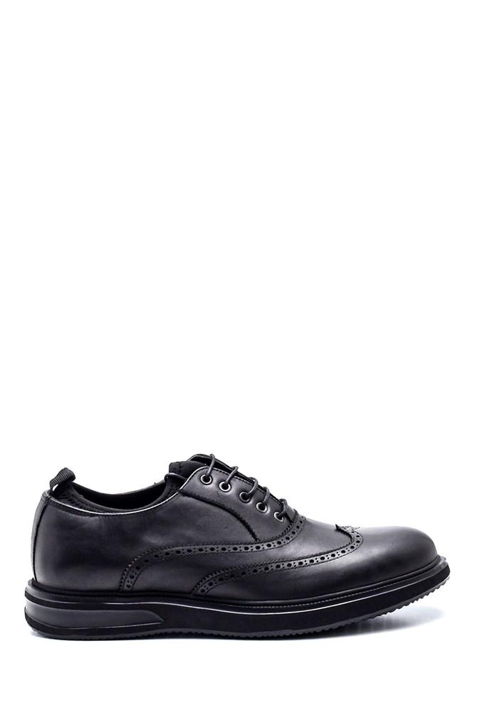 Siyah Erkek Deri Casual Ayakkabı 5638323353