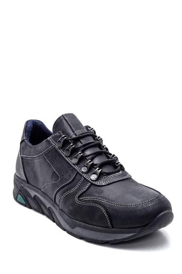 Siyah Erkek Deri Casual Ayakkabı 5638324441