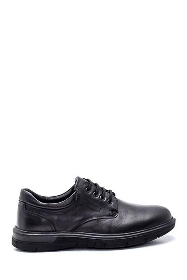 Siyah Erkek Deri Casual Ayakkabı 5638324571