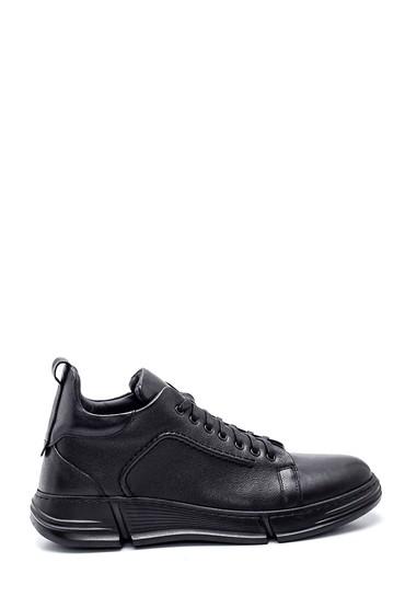 Siyah Erkek Deri Casual Ayakkabı 5638336936