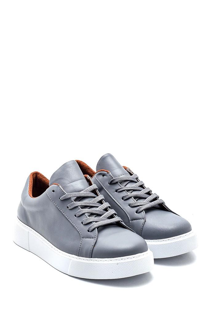 5638335714 Kadın Deri Casual Sneaker
