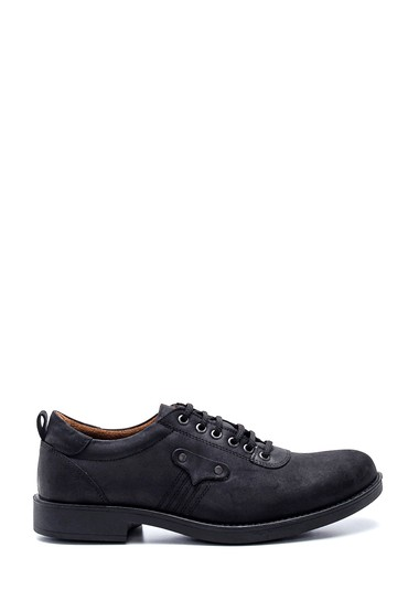 Siyah Erkek Deri Casual Ayakkabı 5638324474
