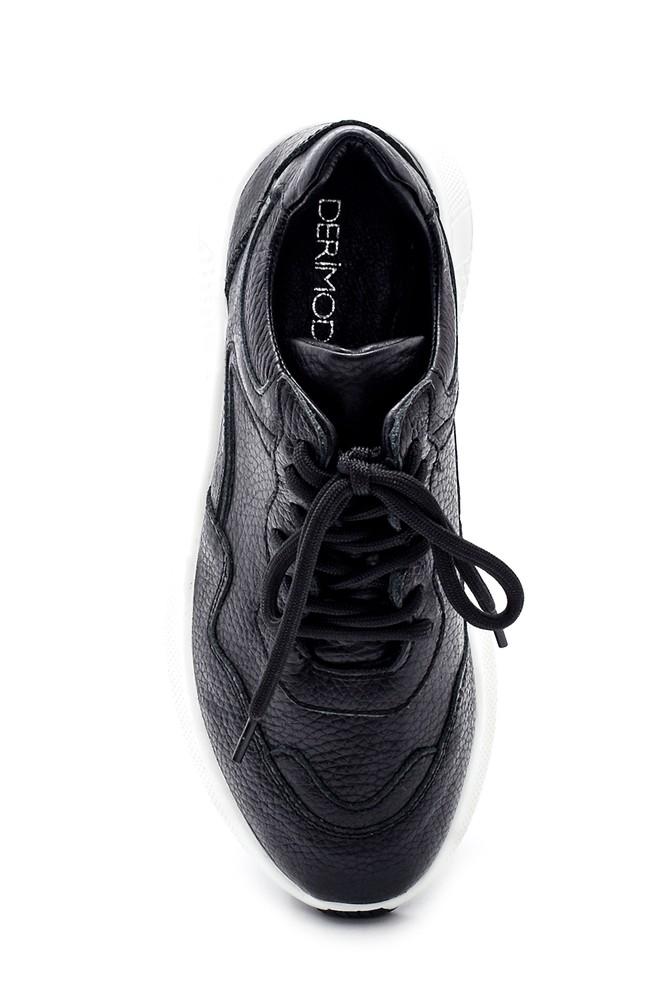 5638343819 Kadın Deri Sneaker