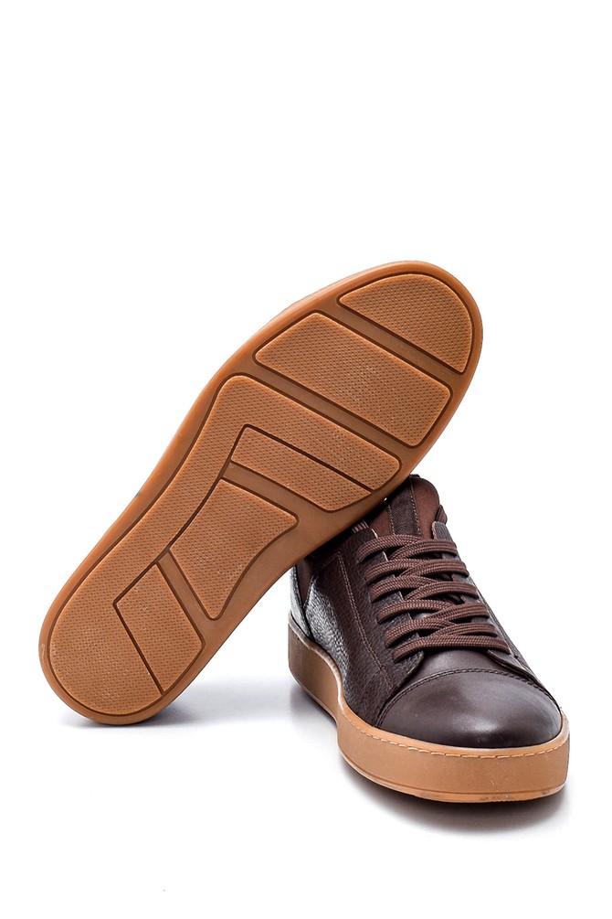 5638320441 Erkek Deri Sneaker