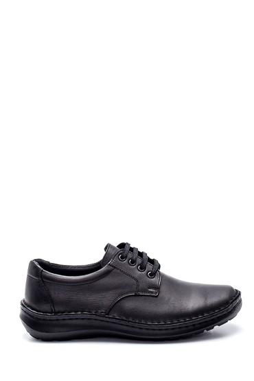 Siyah Erkek Deri Casual Ayakkabı 5638324639