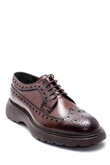 Kahverengi Erkek Deri Casual Ayakkabı 5638336155