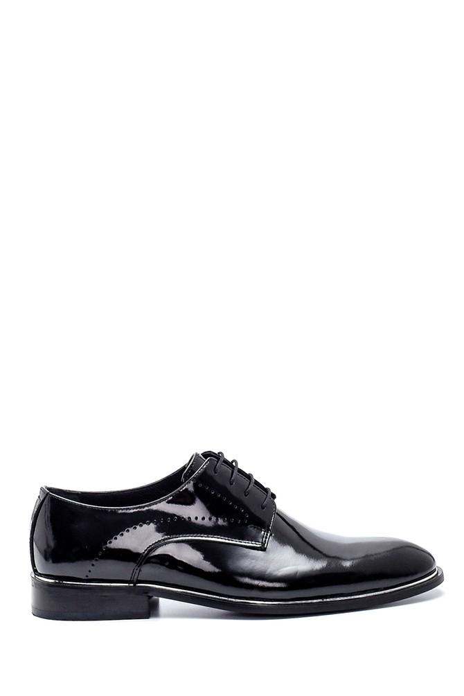 Siyah Erkek Deri Rugan Klasik Ayakkabı 5638336386