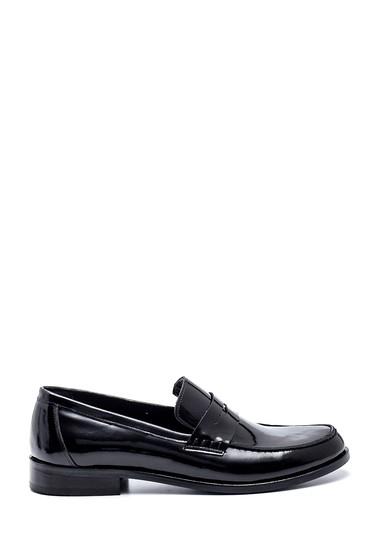 Siyah Erkek Deri Rugan Klasik Ayakkabı 5638336398