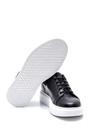 5638347891 Erkek Deri Zımba Detaylı Sneaker