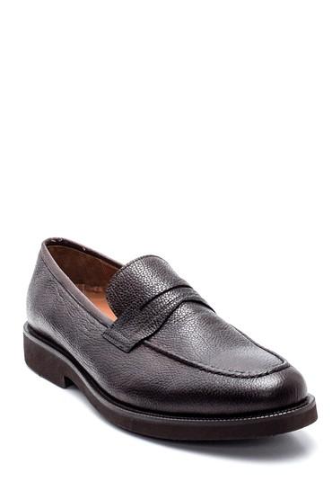 Kahverengi Erkek Deri Casual Ayakkabı 5638347974