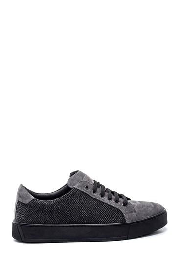 Gri Erkek Baskılı Sneaker 5638348022