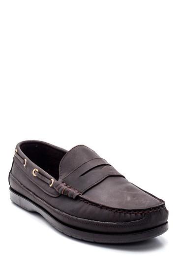Kahverengi Erkek Deri Casual Loafer 5638352487