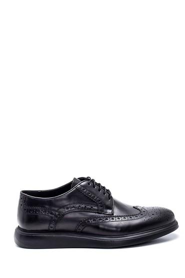 Siyah Erkek Deri Casual Ayakkabı 5638313307