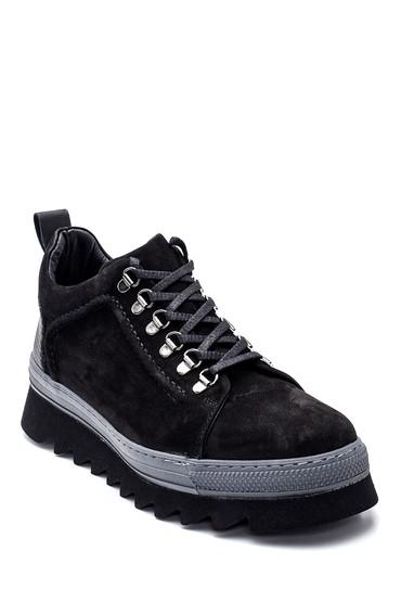 Siyah Erkek Deri Nubuk Ayakkabı 5638332691