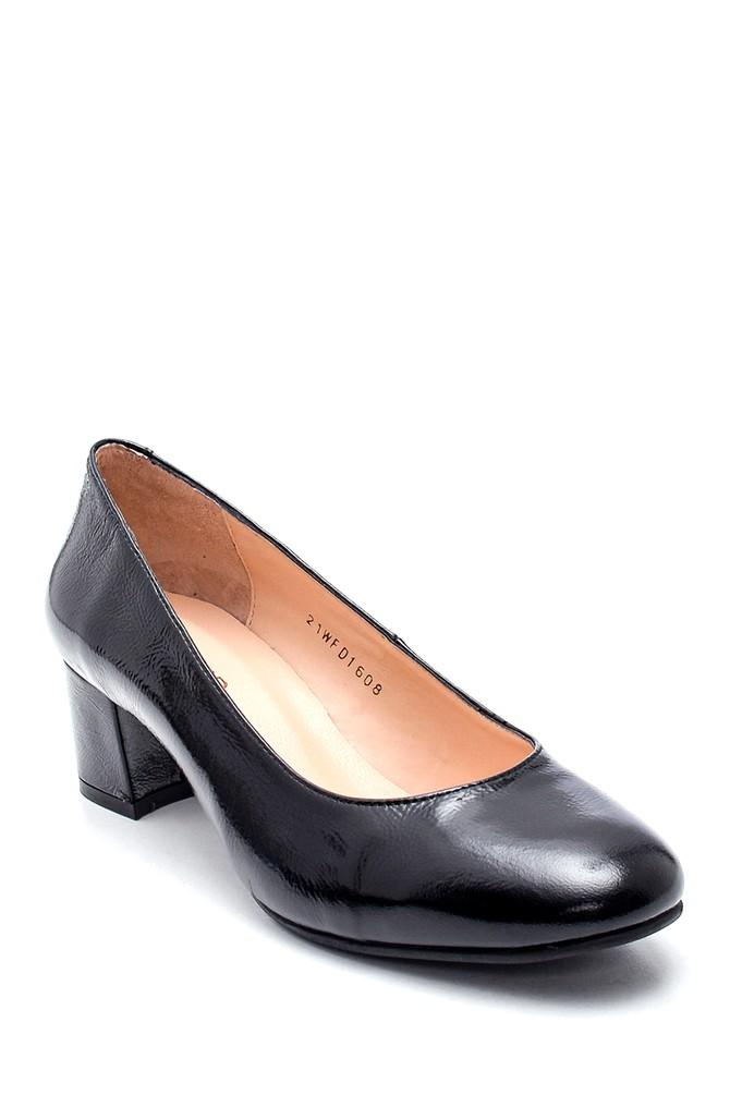 5638349342 Kadın Deri Topuklu Ayakkabı