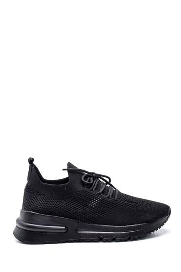 Siyah Kadın Çorap Sneaker 5638347072