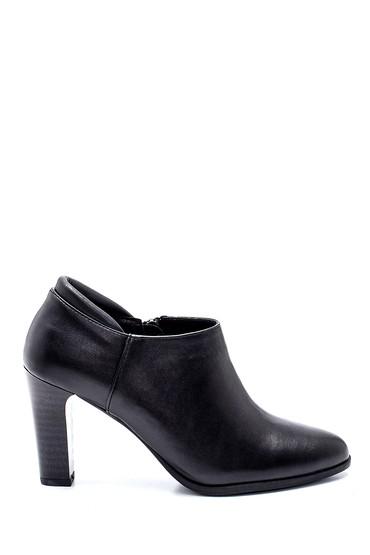 Siyah Kadın Topuklu Bootie 5638335953