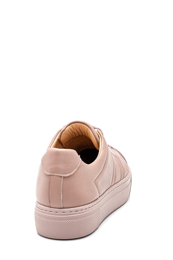 5638344599 Kadın Deri Sneaker