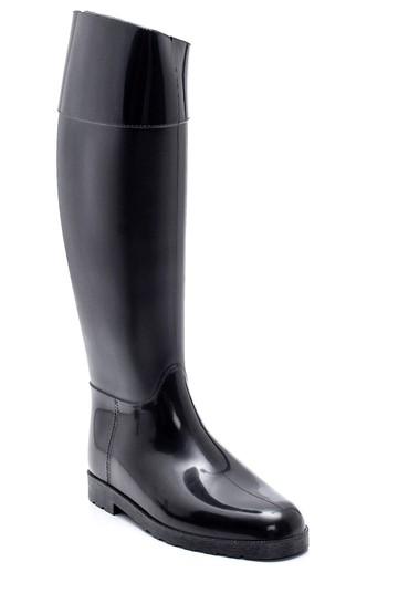Siyah Kadın Yağmur Çizmesi 5638349564
