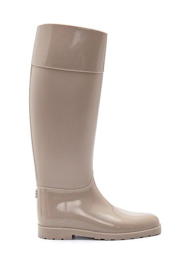 Bej Kadın Yağmur Çizmesi 5638349565