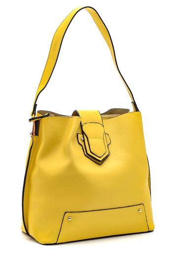 Sarı Kadın Klasik Kol Çantası 5638270302