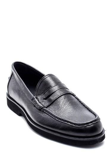 Siyah Erkek Deri Loafer 5638332615