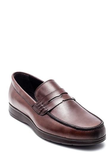Kahverengi Erkek Deri Loafer 5638332661