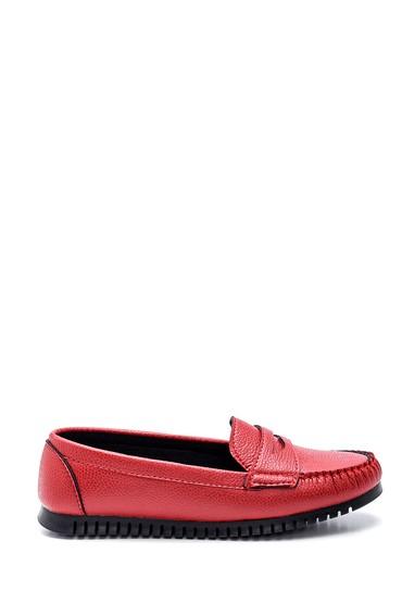 Kırmızı Kadın Loafer 5638339326